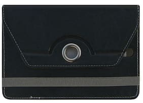 Acm Flip Cover For HP 7 Voice Tab (Black)
