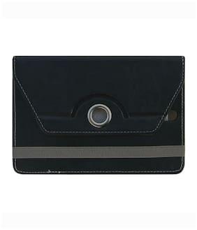 Acm Flip Cover For iBall Slide Wq32 Tablet (Black)