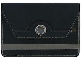 Acm Flip Cover For Dell Venue 7 Premium (Black)