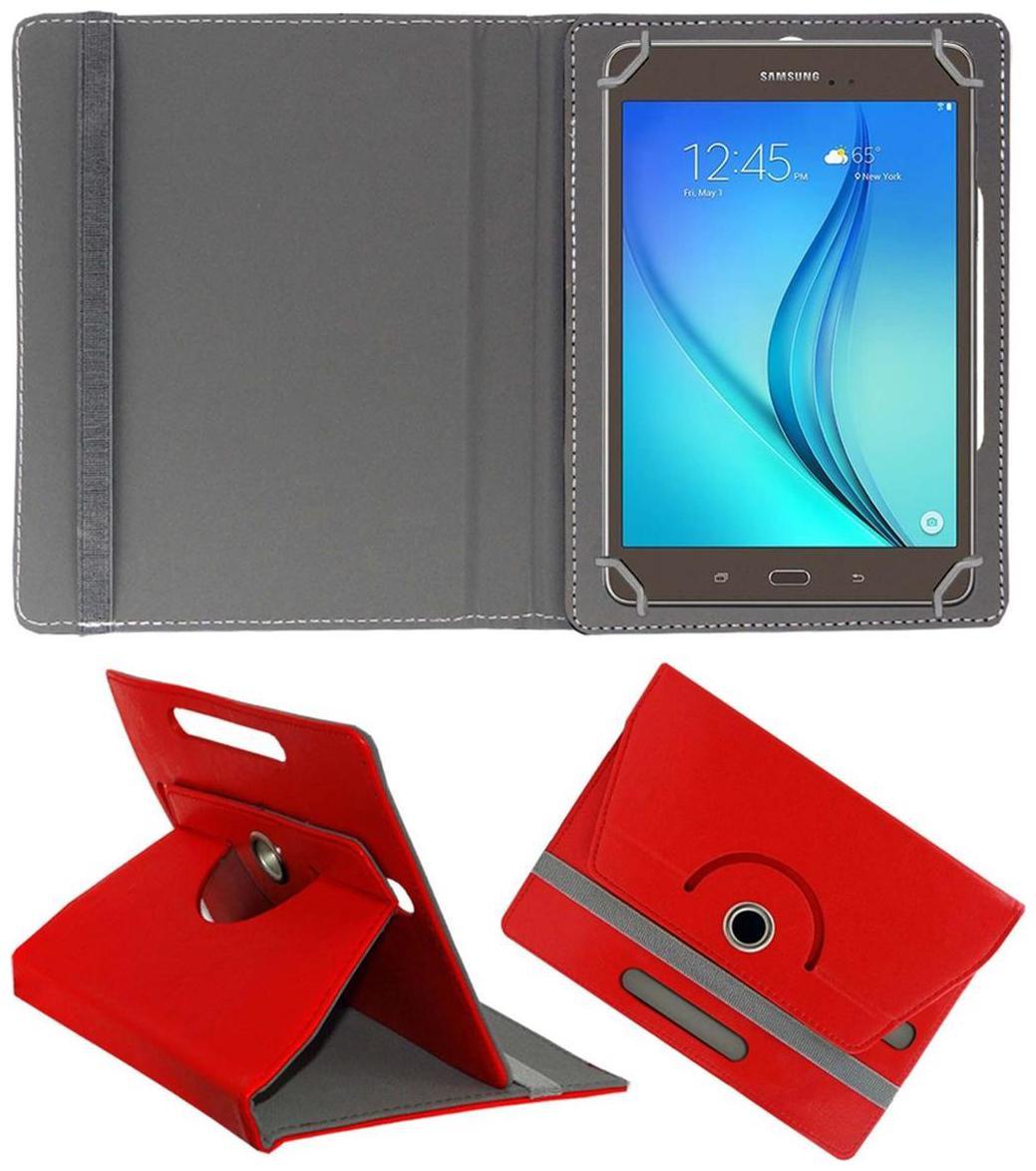 ACM Flip Cover For Samsung Galaxy Tab A T355y  Red