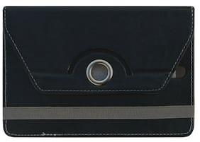 Acm Flip Cover For Lenovo Ideapad A3000 Tab (Black)