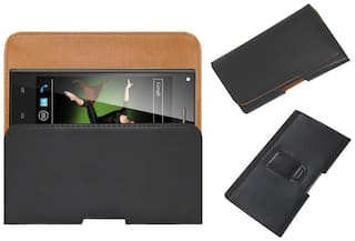 new concept d885a 3dac4 Buy Acm Flip Cover For Xolo Q600S (Black) Online at Low Prices in ...