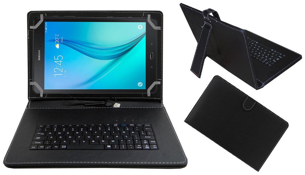 Acm Keyboard Case For Samsung Galaxy Tab S2 9.7  Black  With Free OTG Cabel
