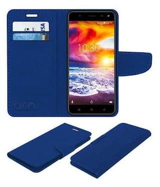 the latest a803b 86ce1 Buy Acm Mobile Leather Flip Flap Wallet Case for Karbonn Titanium ...
