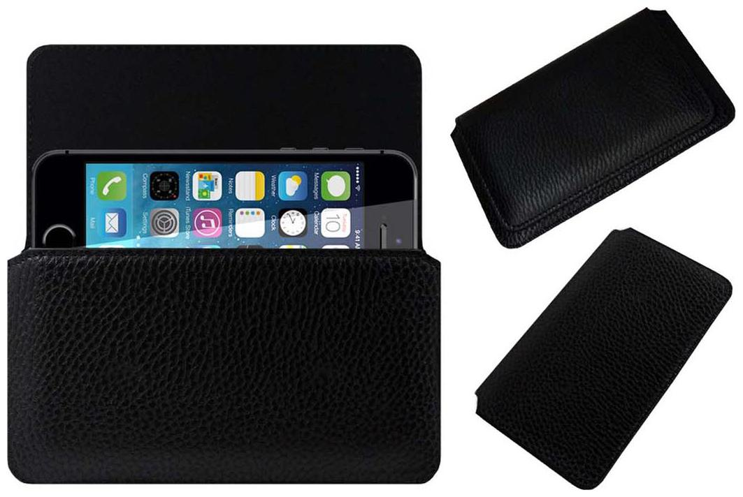 ACM Pouch Cover For Apple iPhone 5S  Black