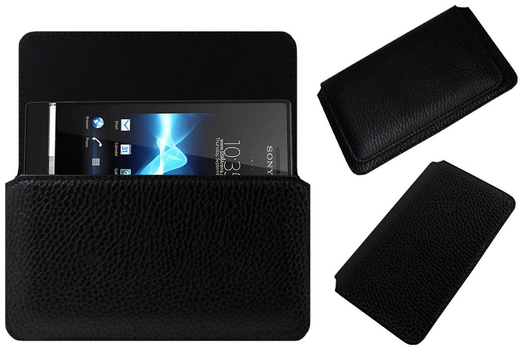 ACM Pouch Cover For SONY ERICSSON XPERIA U ST25I  Black  by Accessories Masters