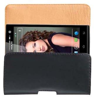 Acm Pouch For Xolo Q1010I (Black)