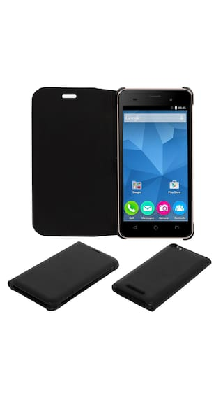 sale retailer 98fb2 522b1 Buy Acm Premium Flip Flap Case For Micromax Canvas Spark 2 Plus Q350 ...