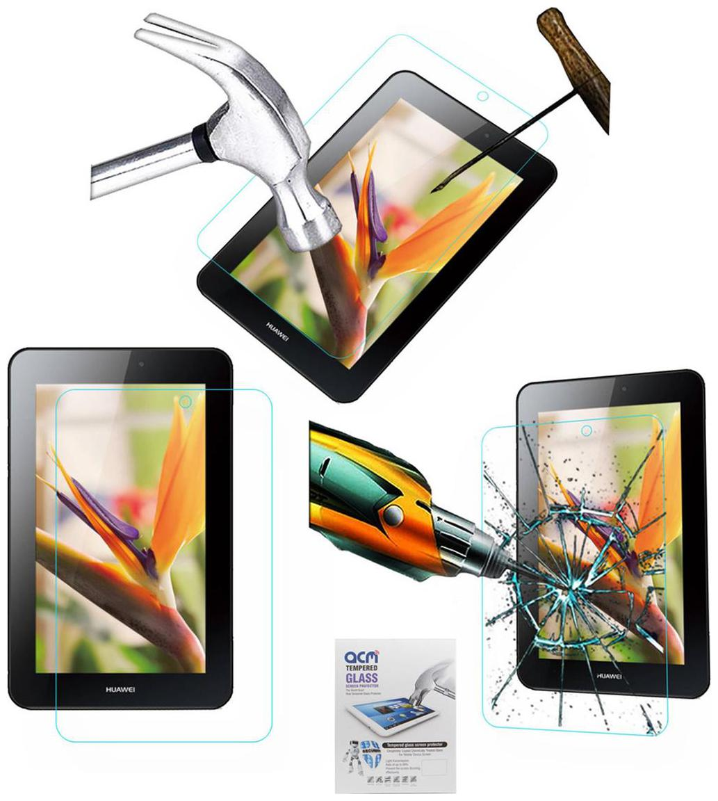 Acm Tempered Glass Screenguard For Huawei Mediapad 7 Youth 2 Tablet Screen Guard Scratch Protector