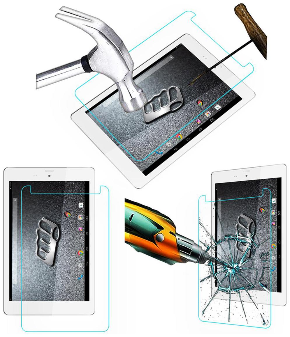 Acm Tempered Glass Screenguard for Micromax Canvas Tab P666 Screen Guard