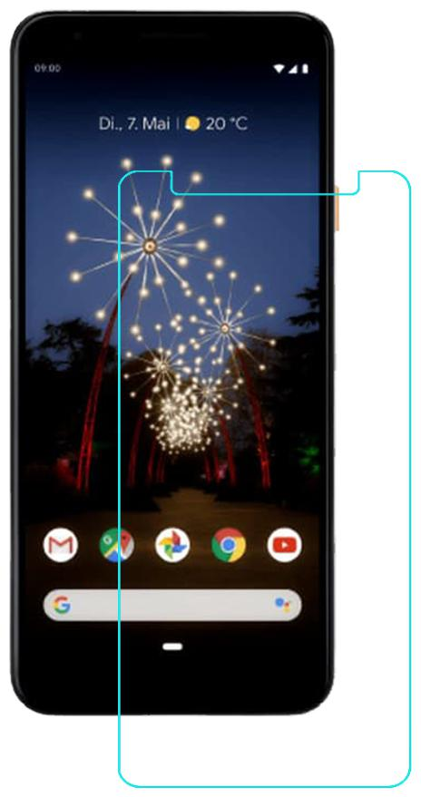 Acm Tempered Glass Screenguard for Google Pixel 3a Mobile Screen Guard