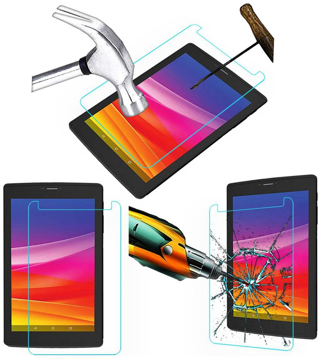 Acm Tempered Glass Screenguard for Micromax Canvas Tab P702 Screen Guard