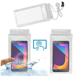 huge discount f93ab db4e4 Buy Acm Waterproof Bag Case for Samsung Galaxy J7 Nxt Mobile (Rain ...