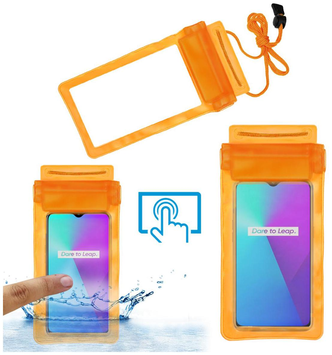 Acm Waterproof Bag Case for Real Me 3i Mobile (Rain,Dust,Snow & Water...