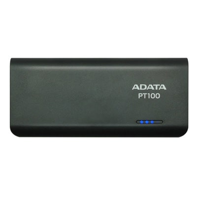 Adata PT100 10000 mAh Power Bank (Black & Green)