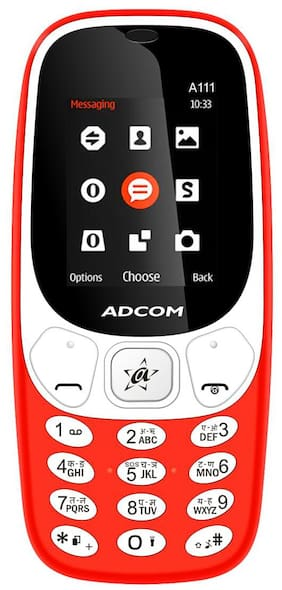 ADCOM A111 Voice Changer Phone | 1.8 inches | 1050 mAh Battery |Made in India - 1 Year Manufacturer Warranty