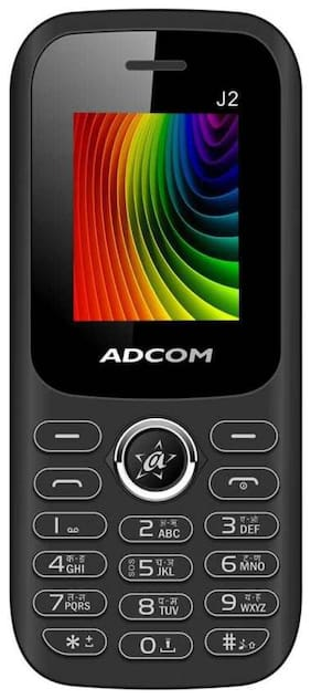 ADCOM J2 Dual SIM Phone |1.8 inch with Digital Camera | Big battery 1500 mAh | Made in India- 1 Year Brand Warranty