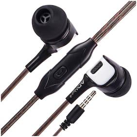 Ad Net EARPHONE In-ear Wired Headphone ( Black )