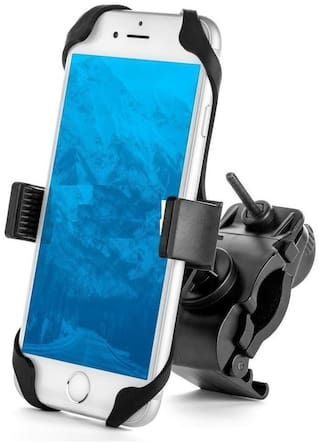 """Aeoss Bike Phone Mount, Universal - for Motorcycle - Bike   Holds Phones Up To 3.5"""" Wide: for Motorcycles and Bikes"""
