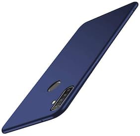 AESTMO Ultra Slim Flexible Shockproof with Camera Protecting Bump Edge to Edge 360 Degree Protection Matte Soft Back Case Cover for Realme 5i / 5s / 5 (Washington Blue)