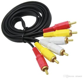 AFRODIVE AUX 3.5 mm Cable ( 1 m , Black )