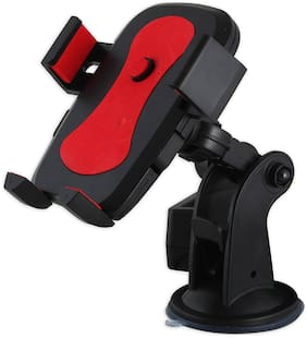AlexVyan Plastic Car Mount/Holder & Suction Mount Mobile Holder