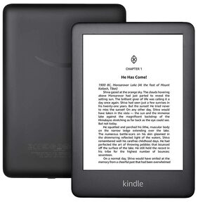 All-New Kindle (10th Gen), 15.24 cm (6 Inch) Display now with Built-in Light, 4 GB, Wi-Fi (Black)