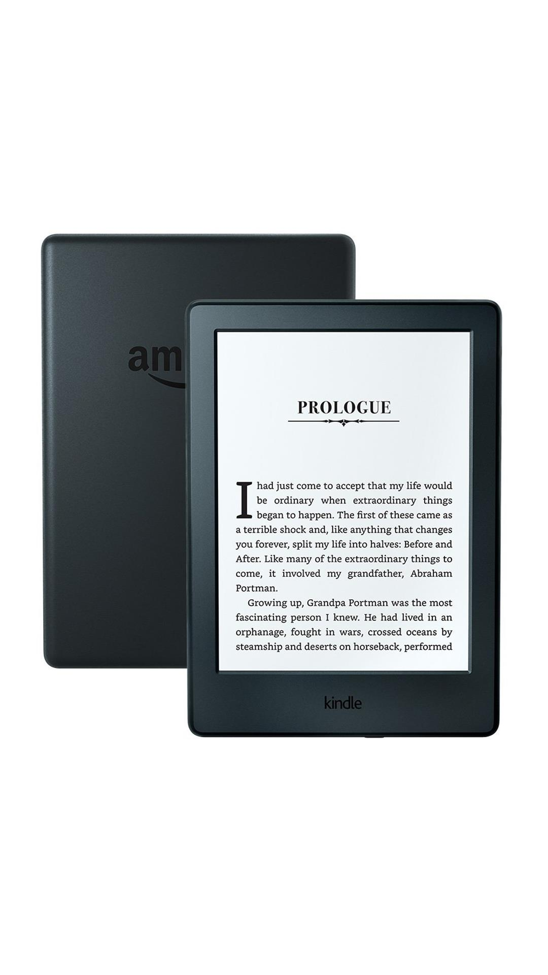 All-New Kindle E-reader Wi-Fi only (Black, 8th Generation, 4GB, 167 ppi)