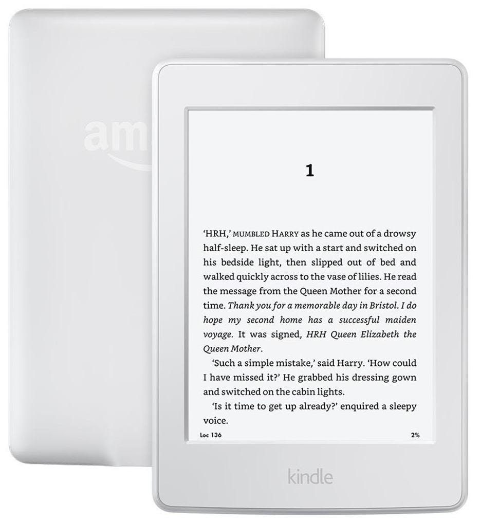 All-New Kindle Paperwhite 3G + Wi-Fi (White)