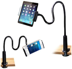 AMBLIC Universal Gosseneck Phone Holder Arm Lazy Flexible Stand for Table/Bed/Video, Flexi Lazy Stand Compatible with All Smartphones and Tablets