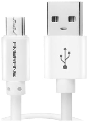 Ambrane Usb cable - White