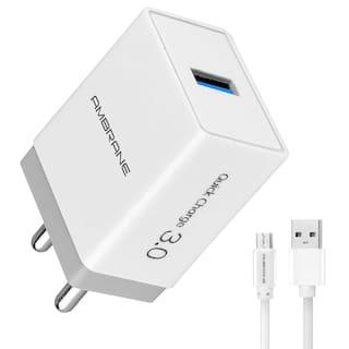 Ambrane Wall Charger - 1 USB Port