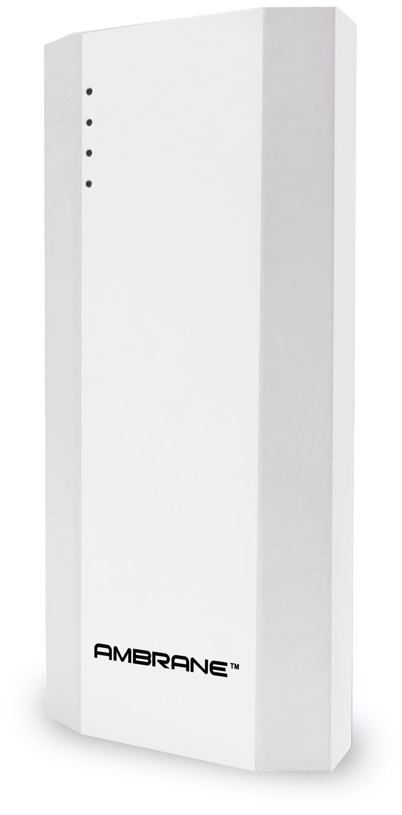 Ambrane P-1111 10000mAh Power Bank (White)