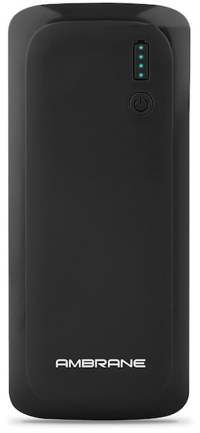 Ambrane P-1250 12500 mAh Power Bank - Black