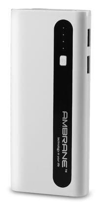 Ambrane P-1310 13000 mAh Power Bank (White & Black)