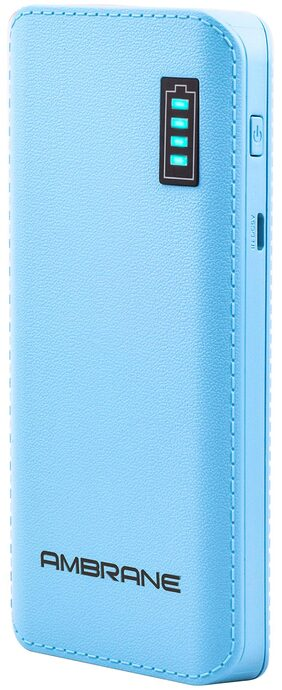 Ambrane Power Bank P-1133 12500mAh-Blue