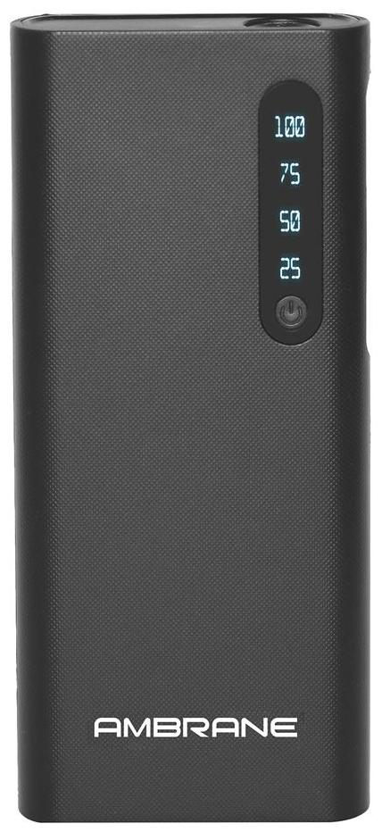 Ambrane P 888 8000 mAh Power Bank   Black by BJ Infotech