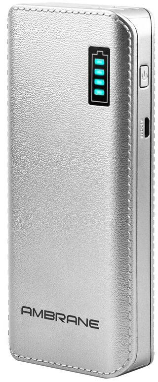 Ambrane Power Bank P-1133 12500mAh-Silver