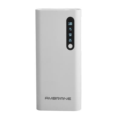 Ambrane Power Bank P-888 8000mAh (White)