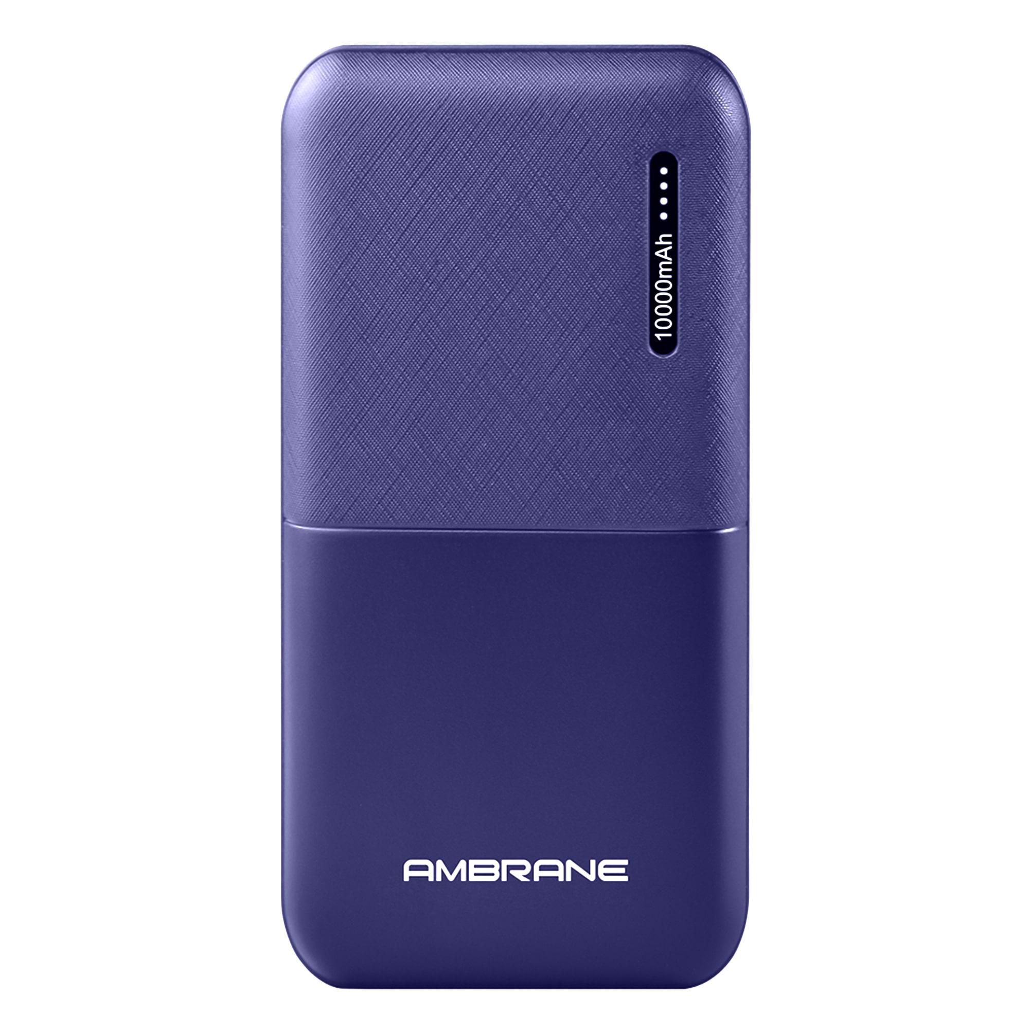 Ambrane PP-111 10000 mAh Portable Power Bank - Blue