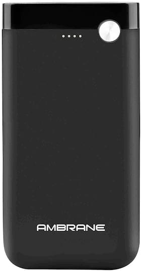 Ambrane PP-150 15000-Mah Lithium Polymer Power Bank - Black