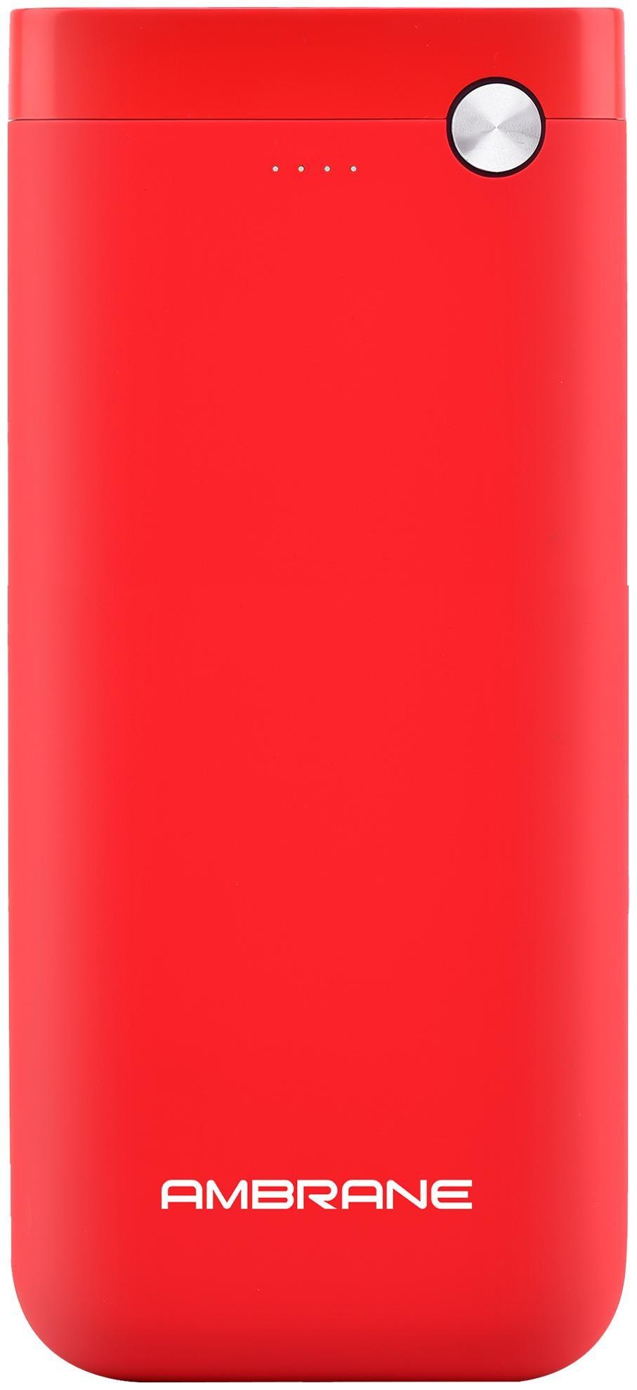 Ambrane PP 20 20000 mAh Power Bank   Red