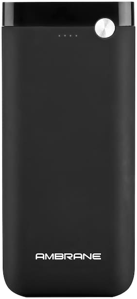 Ambrane PP-20 20000 mAh Power Bank - Black