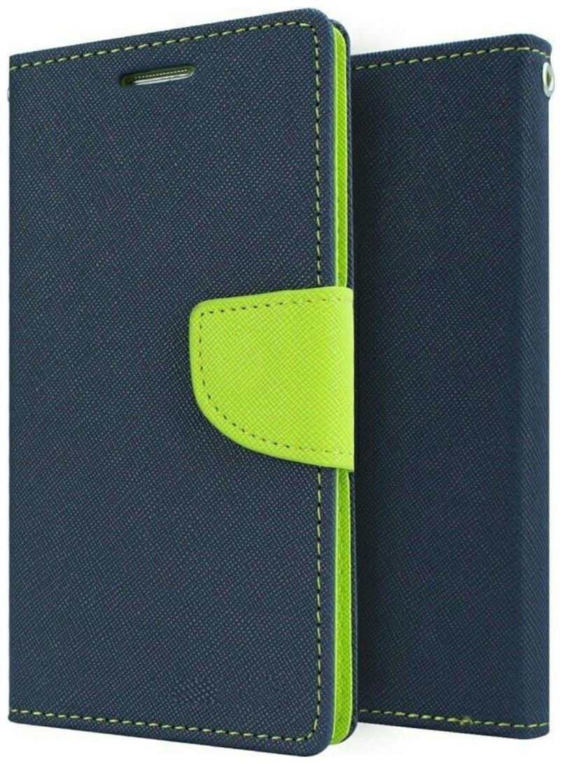 Americhome Artificial Leather Flip cover for Xiaomi Mi4i  Blue  by Amerihome