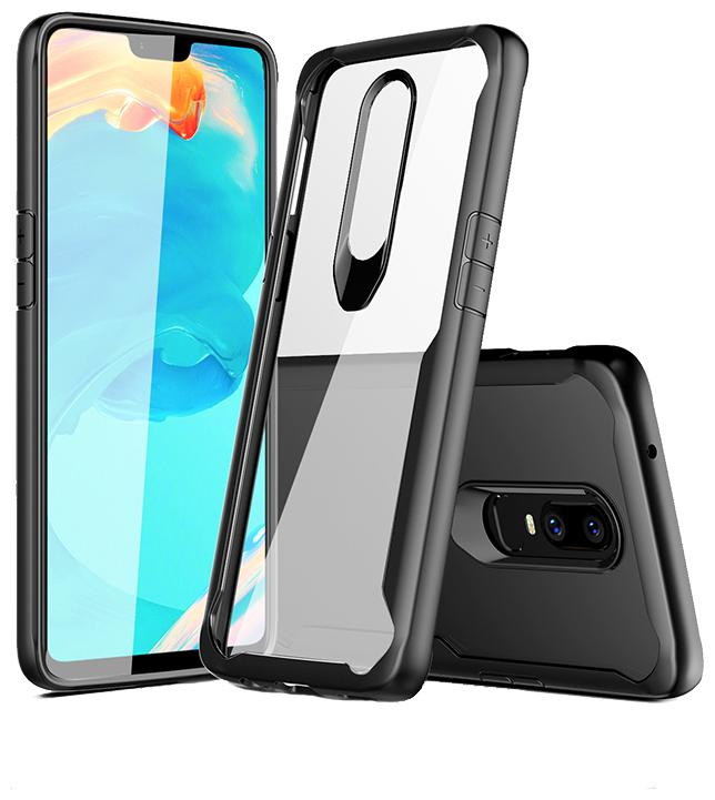 Americhome Polycarbonate Back Cover For OnePlus 7   Transparent   by Amerihome
