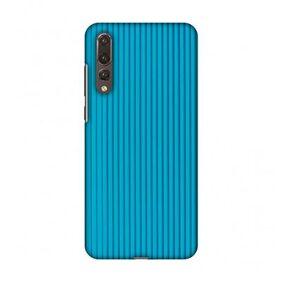 AMzER? Designer Case - Carbon Fibre Redux Aqua Blue 16 For Huawei P20 Pro