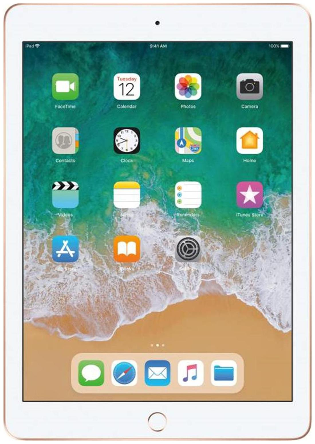 Apple ipad  6th Gen  32  GB 9.7 inch with Wifi only   Gold   by Telematics