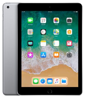 "Apple ipad 9.7"" 128 GB Wifi + Cellular ( Space Grey , 2018 Model )"