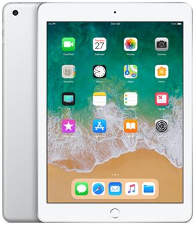 "Apple ipad 9.7"" 32 GB Wifi + Cellular ( Silver , 2018 Model )"