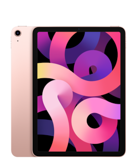 Apple iPad Air (2020) 27.69 cm (10.9 inch) 64 GB Wi-Fi Only Rose Gold